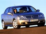 Pictures of Opel Vectra Sedan (C) 2002–05