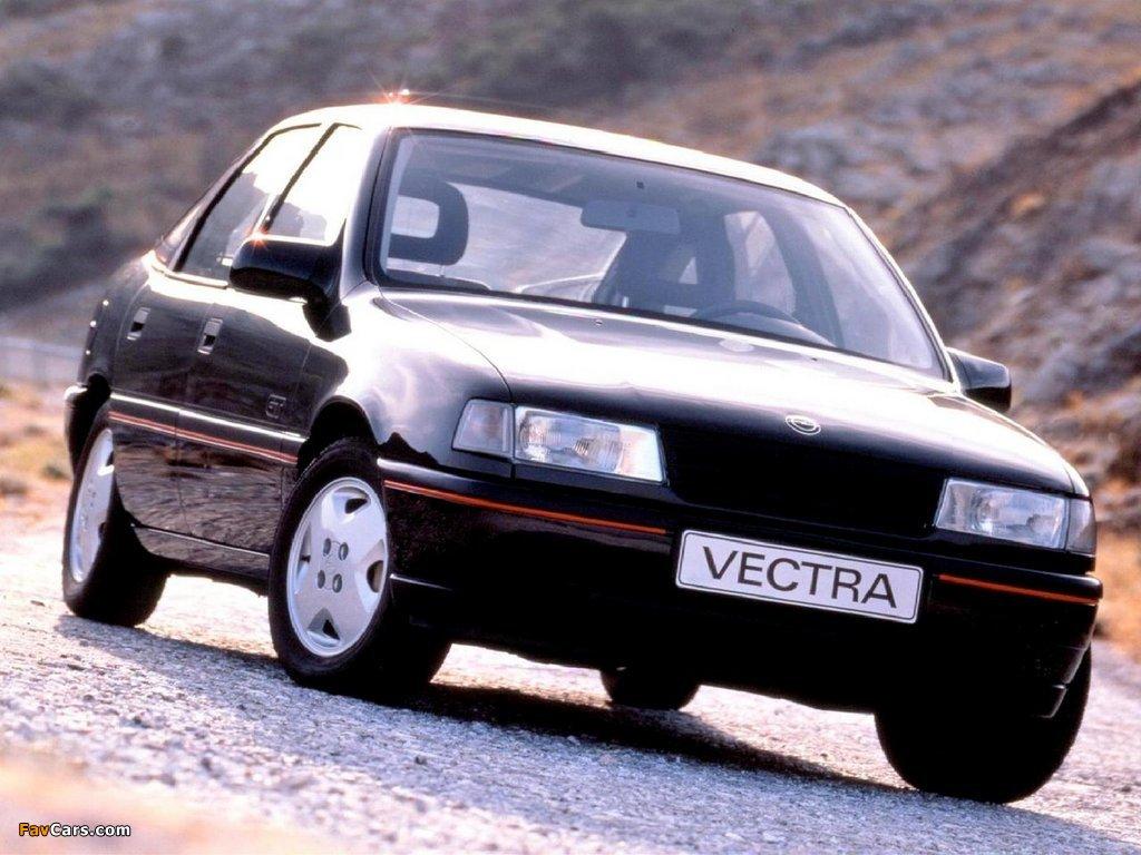 Opel Vectra GT Hatchback (A) 1988–92 wallpapers (1024 x 768)