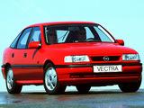 Opel Vectra GT Hatchback (A) 1992–94 wallpapers