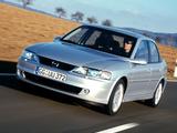 Opel Vectra Sedan (B) 1999–2002 wallpapers