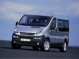 Opel Vivaro 2001–06 photos