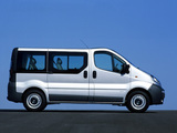 Opel Vivaro 2001–06 wallpapers