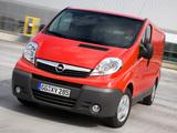 Photos of Opel Vivaro Van 2006