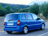 Images of Opel Zafira OPC (A) 2001–05