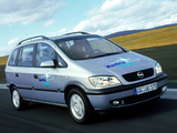 Images of Opel Zafira CNG (A) 2002–05