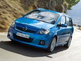 Images of Opel Zafira OPC (B) 2005–10