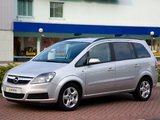 Images of Opel Zafira Van (B) 2006–08