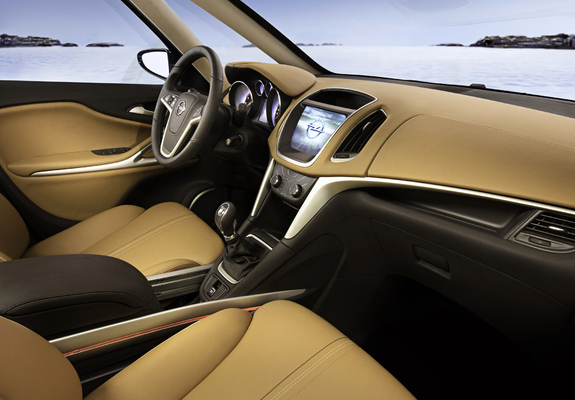 Images Of Opel Zafira Tourer Concept C 2011