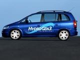 Opel Zafira HydroGen 3 Concept (A) 2001 wallpapers