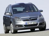 Opel Zafira 2.0 Turbo (B) 2005–08 images