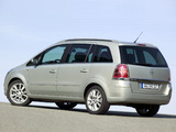 Opel Zafira (B) 2005–08 pictures