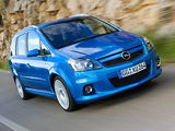 Opel Zafira OPC (B) 2005–10 pictures