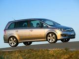 Opel Zafira (B) 2008 photos