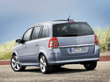Opel Zafira (B) 2008 photos