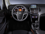 Opel Zafira Tourer ecoFLEX (C) 2011 wallpapers