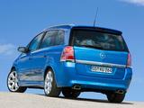 Photos of Opel Zafira OPC (B) 2005–10