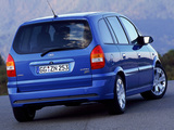 Pictures of Opel Zafira OPC (A) 2001–05