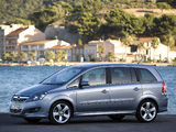 Pictures of Opel Zafira (B) 2008