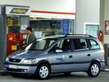 Opel Zafira CNG (A) 2002–05 wallpapers