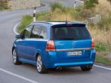 Opel Zafira OPC (B) 2005–10 wallpapers