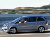 Opel Zafira (B) 2008 wallpapers