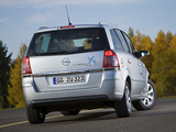 Opel Zafira TNG (B) 2009 wallpapers