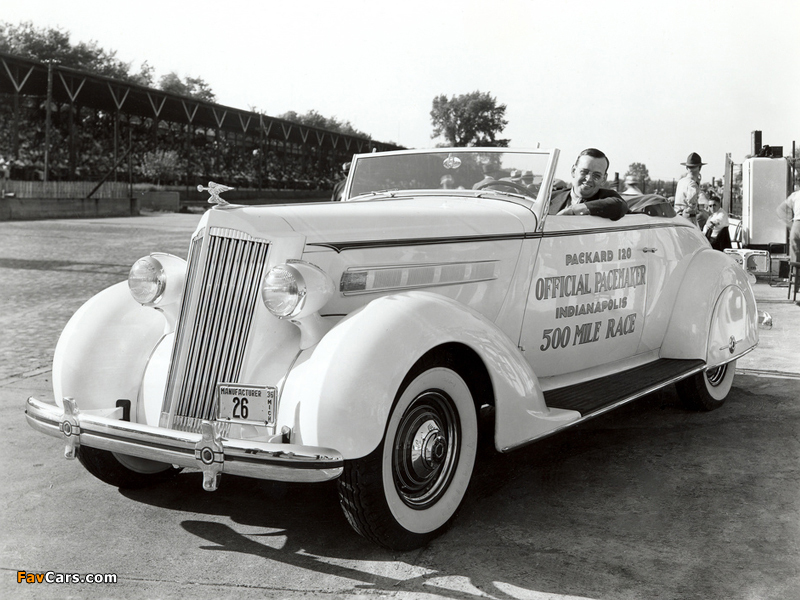 Packard 120 Convertible Coupe Indy 500 Pace Car 1936 photos (800 x 600)