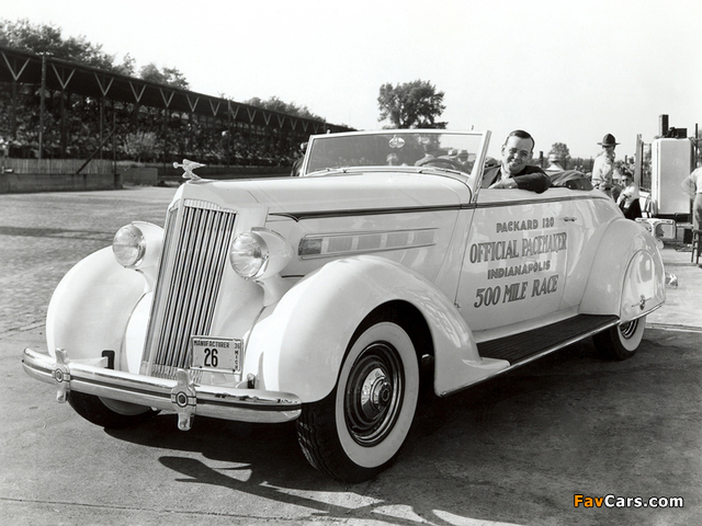 Packard 120 Convertible Coupe Indy 500 Pace Car 1936 photos (640 x 480)
