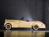 Packard 120 Convertible Victoria by Darrin (1701) 1939 wallpapers