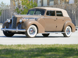 Pictures of Packard 160 Super Eight Convertible Sedan (1803-1377) 1940