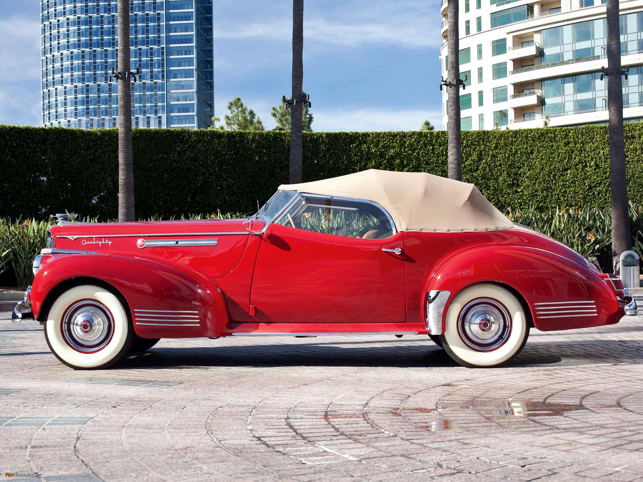Images Of Packard Darrin 180 Convertible Victoria 1941
