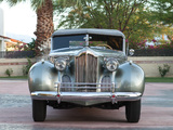 Pictures of Packard 180 Custom Super Eight Convertible Sedan by Darrin (1807-710) 1940