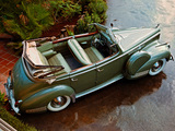 Pictures of Packard Darrin 180 Convertible Sedan 1942