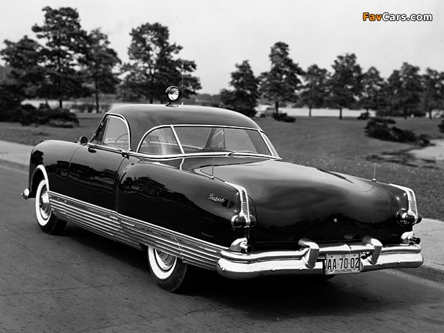 Packard Special Speedster Concept Car 1952 pictures (640 x 480)