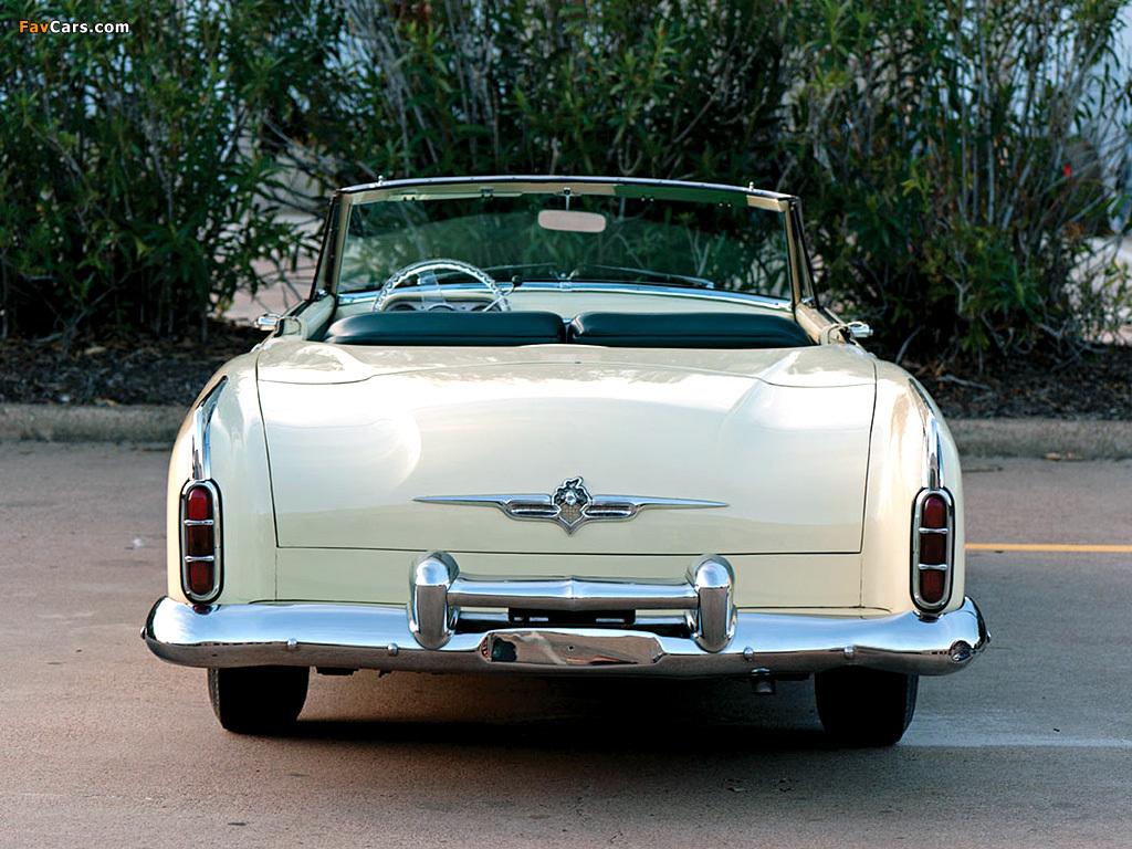 Photos of Packard Saga Concept Car 1955 (1024 x 768)