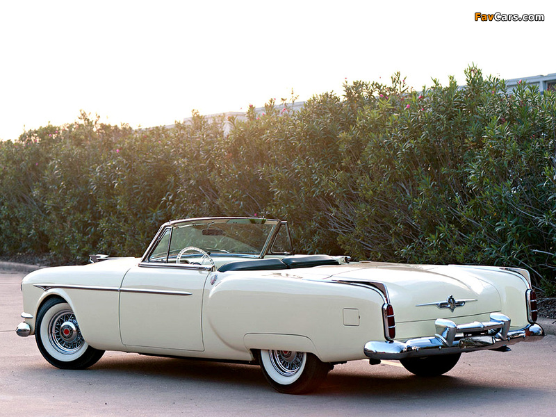 Pictures of Packard Saga Concept Car 1955 (800 x 600)