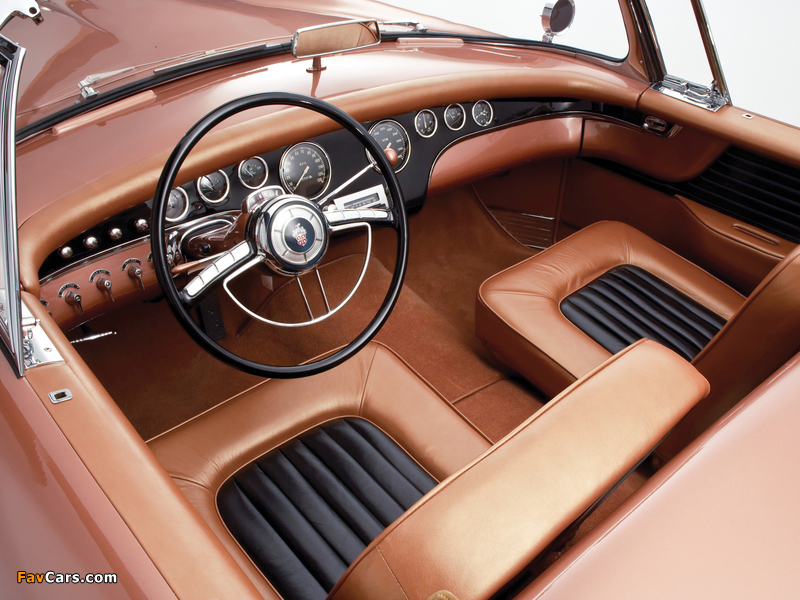 Packard Panther Daytona Roadster Concept Car 1954 wallpapers (800 x 600)