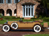 Pictures of Packard Custom Eight Dual Cowl Phaeton (640-341) 1929
