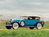 1930 Packard Custom Eight Sport Phaeton (740-441) 1929–30 wallpapers
