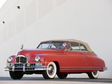 Packard Custom Eight Convertible Coupe 1948 wallpapers