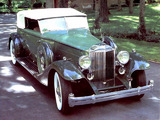 Packard Custom Twelve Convertible Victoria by Dietrich (1006-3072) 1933 pictures