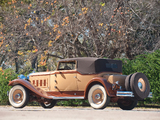 Packard Deluxe Eight Convertible Victoria by Waterhouse (840) 1931 pictures