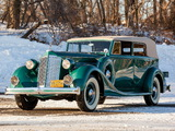 Images of Packard Eight Convertible Sedan (1402-963) 1936
