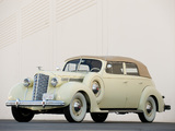 Images of Packard Eight Convertible Sedan (1601-1197) 1938