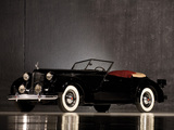 Packard Eight Convertible Victoria by Darrin 1938 pictures