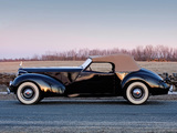 Photos of Packard Eight Convertible Victoria by Darrin 1938