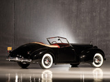 Pictures of Packard Eight Convertible Victoria by Darrin 1938