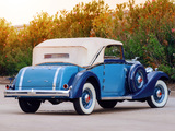 Packard Eight Cabriolet by Graber 1933 wallpapers