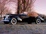 Packard Eight Convertible Victoria by Darrin 1938 wallpapers