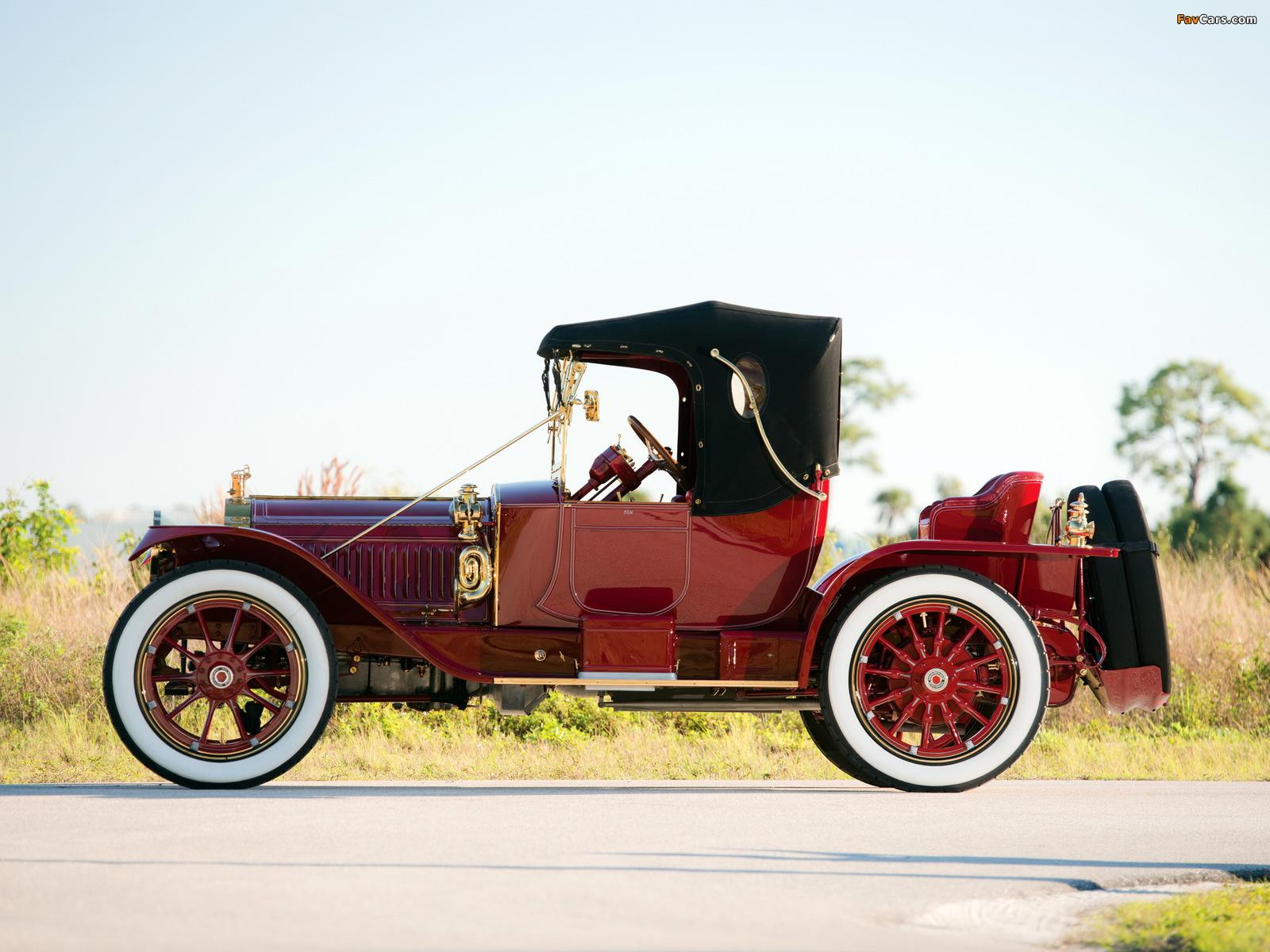 Packard Six Runabout (1-38) 1913 photos (1600 x 1200)